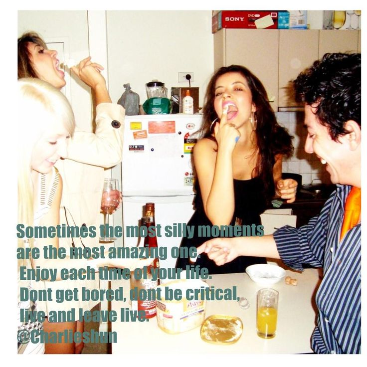 Sometimes the most silly moments are the most amazing one.#motivation @CHARLIESHUN #motivacion #lifecoaching #quotes