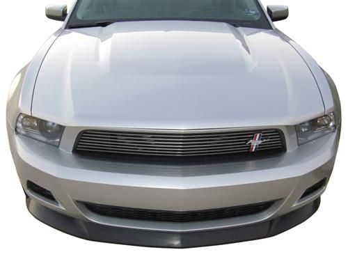 Looking to add some aggressive styling to the front of your new 2010-12 Ford Mustang V6? Check out this Mustang Chin Spoiler!