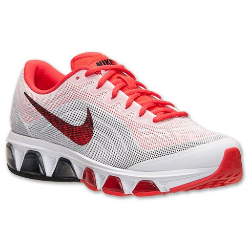 newest collection aebe5 64805 Women s Nike Air Max Tailwind 6 Running Shoes   FinishLine.com   White Black Light  Crimson   Shoes   Nike air max for women, Nike air max, Nike