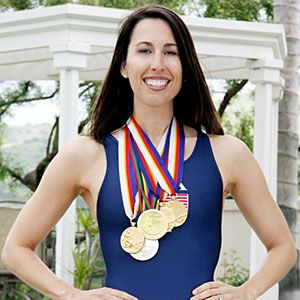 Janet Evans:  Olympic Gold Medalist,  Swimming, USA