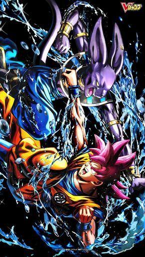 SSJG Goku Vs Bills dios de la destrucción