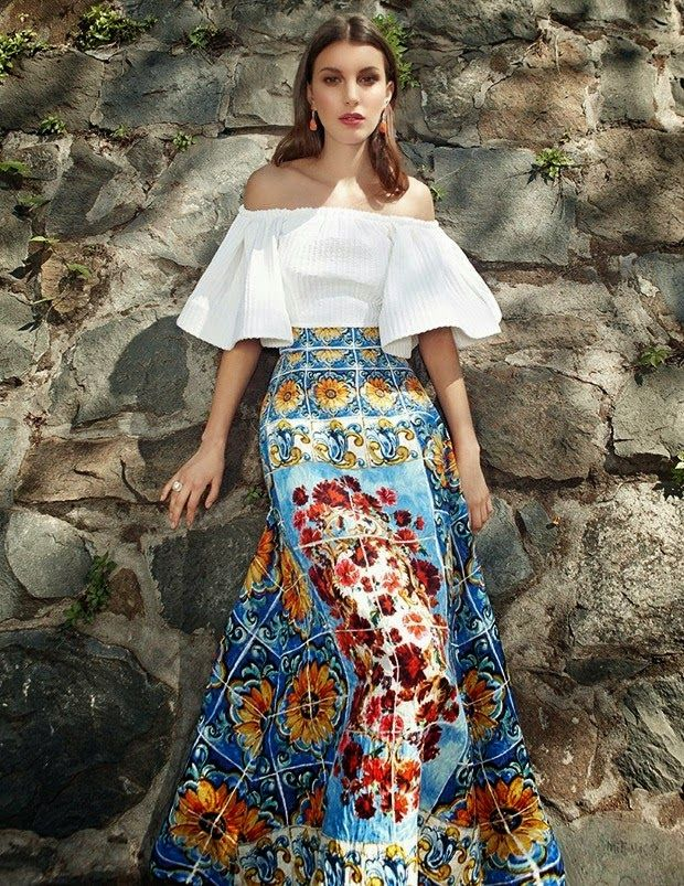 """""""Al Sur"""" Kate King by Martin Lidell for Vogue Mexico May 2015"""