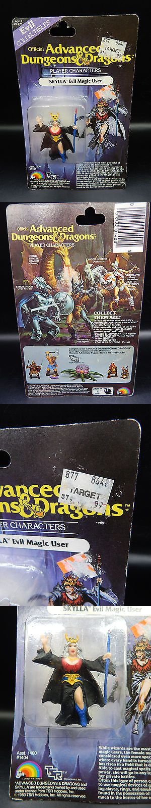 Fantasy 175693: Moc Vintage Skylla Advanced Dungeons And Dragons Ljn Figure 1983 Evil Magic User ! -> BUY IT NOW ONLY: $39 on eBay!