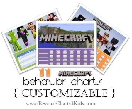 Minecraft Behavior Charts