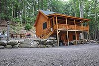 Coventry Log Homes - Northwood - 920 SF