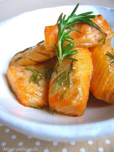 鮭ハラスのローズマリー焼き♪ by みぃさん | レシピブログ - 料理 ...