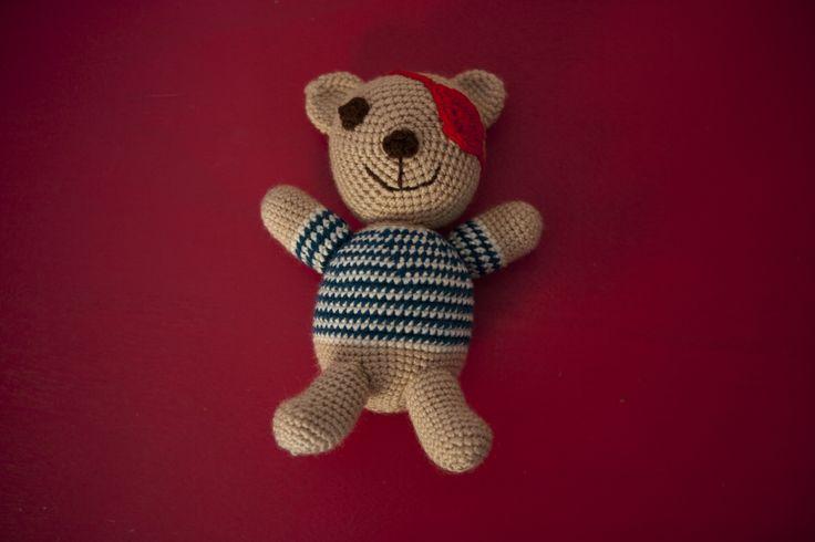 Crochet doll by THEIA Lab's student, Martha Papaioannou.