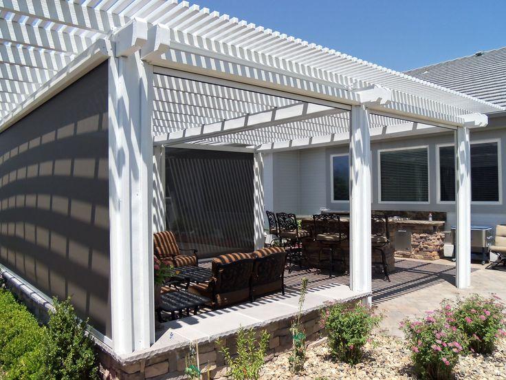 Nice Wonderful Patio Sun Shades , Sail Shade Pinterest Patio ,  Http://ihomedge
