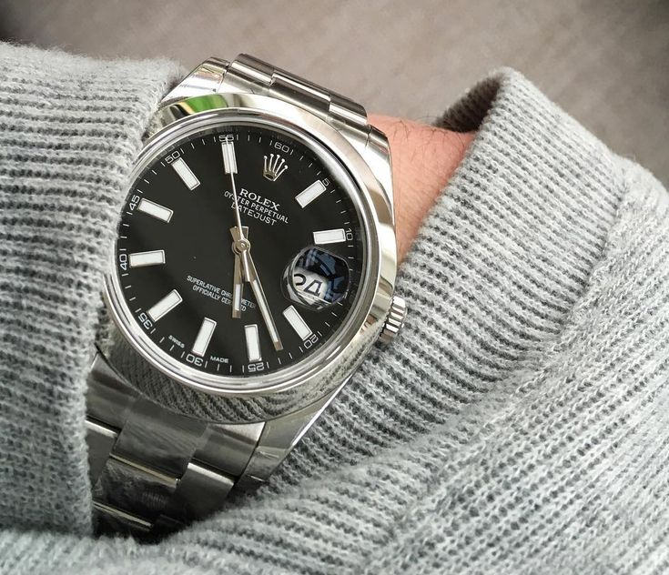 Rolex Datejust II 41mm in Black.