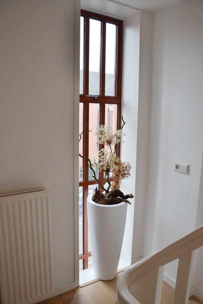 High window vase.