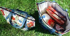 Sew your own insulated picnic tote ~ tutorial