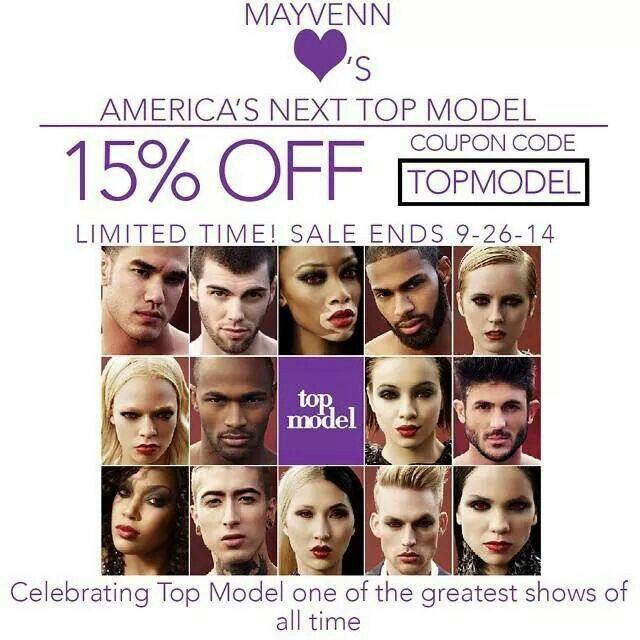 The SALES just keep on raining in! Tonights the night for the makeovers on America's Next Top Model! To celebrate, we're giving an awesome sale. Get 15% OFF when you use coupon code: TOPMODEL. Enjoy until September 26! #mayvennsale #mayvennhair #antmcycle21 #antm #sales #onsale #weave #hairaddict #hair #glamupyourlook #discounts #beautifulhair #brazilianhair #malaysianhair http://www.hairstylesbytiffany.mayvenn.com