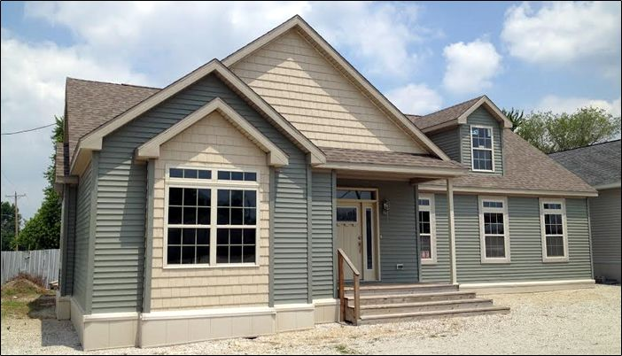 Display Homes :: Pine Ridge Homes - Custom Modular Homes - Vandalia and Litchfield Illinois