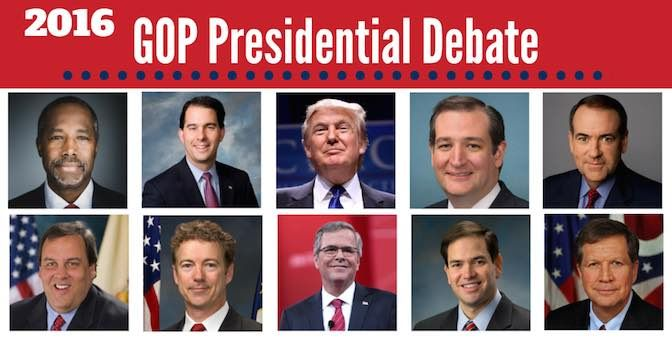 2016 GOP Presidential Candidates