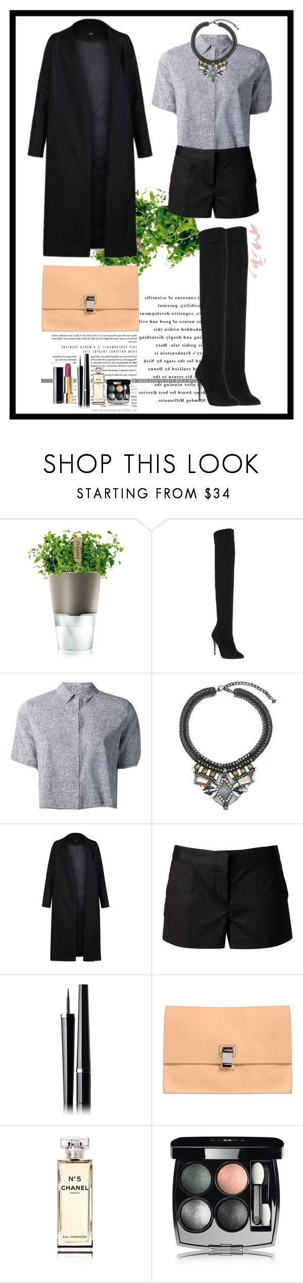 """Nameless"" by pinklowes ❤ liked on Polyvore featuring Eva Solo, Office, T By Alexander Wang, Nocturne, Non, MICHAEL Michael Kors, Chanel and Proenza Schouler"