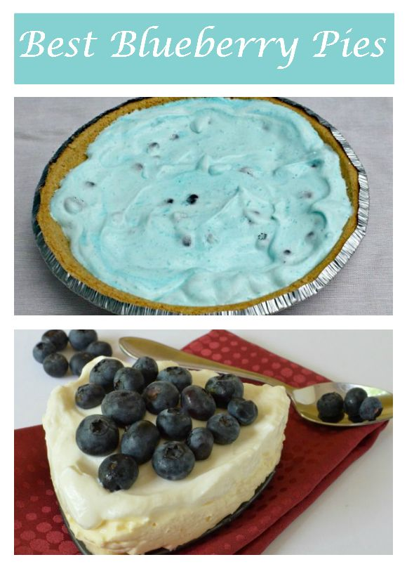 The most delicious low-calorie blueberry pie recipes from OurFamilyWorld and around the internet. Check them out and celebrate Blueberry Month!