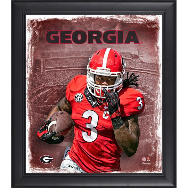 """Todd Gurley Georgia Bulldogs Fanatics Authentic Framed 15"""" x 17"""" Playmaker Collage - $49.99"""