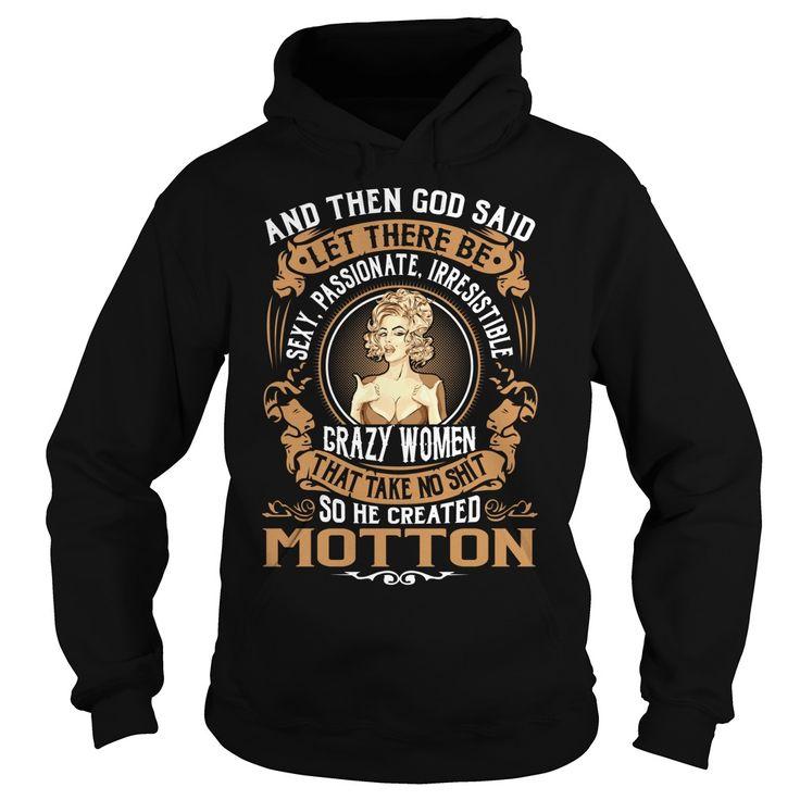 God Created MOTTON Name Shirts #Motton