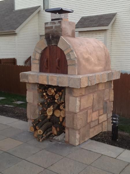 Diy Wood Fired Pizza Oven How To Build A Pizza Oven