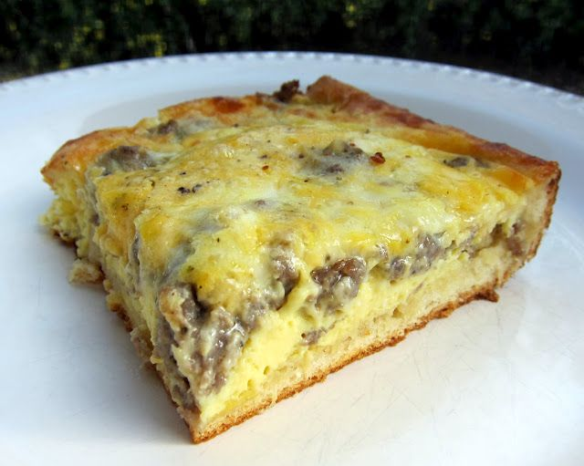 PC Breakfast Bake ~ This is an alternative to the traditional Breakfast Casserole I usually make.