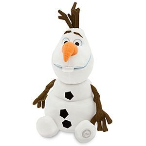 Disney Olaf Plush - Frozen - Medium - 13 1/2'' | Disney StoreOlaf Plush - Frozen - Medium - 13 1/2'' - Welcome a breeze of bright spirits and snow-day smiles with every hug of our super-soft plush snowman, Olaf, fresh from Disney's hit comedy-adventure <i>Frozen</i>.