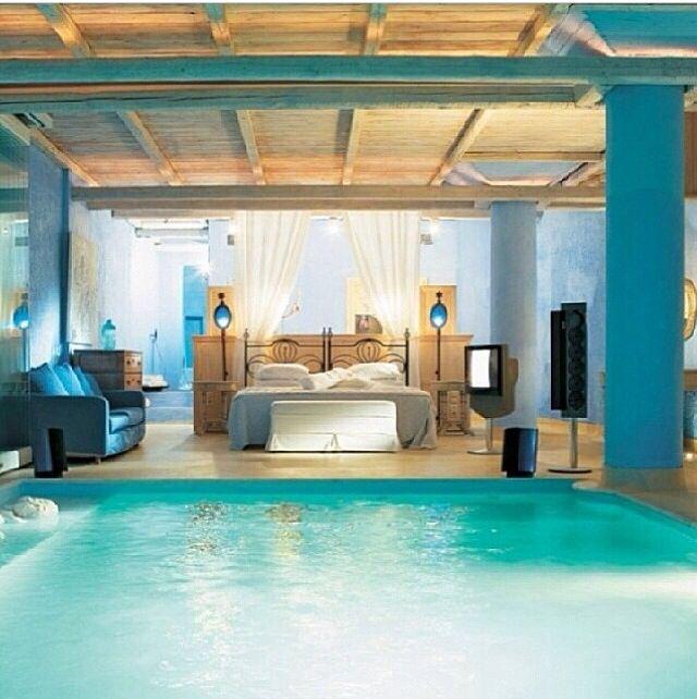 Inside Of Dream Houses: Pool Inside Bedroom