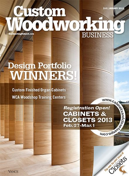 custom woodworking business january 2013 custom woodworking wood ...
