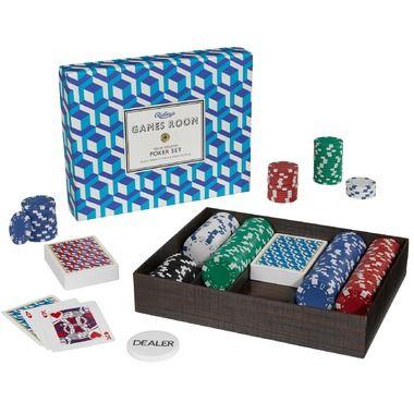 Ridley\'s Games Room Poker Set