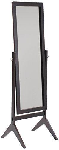 Dresser Mirror Wooden Rectangular Cheval Adjustable Furniture Full Length Mirror #FullLengthMirror