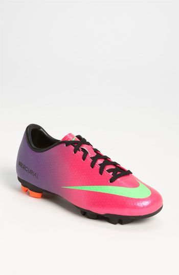 Nike 'Jr. Mercurial Victory' Soccer Cleat (Little Kid & Big Kid) | Nordstrom.... obsessed.