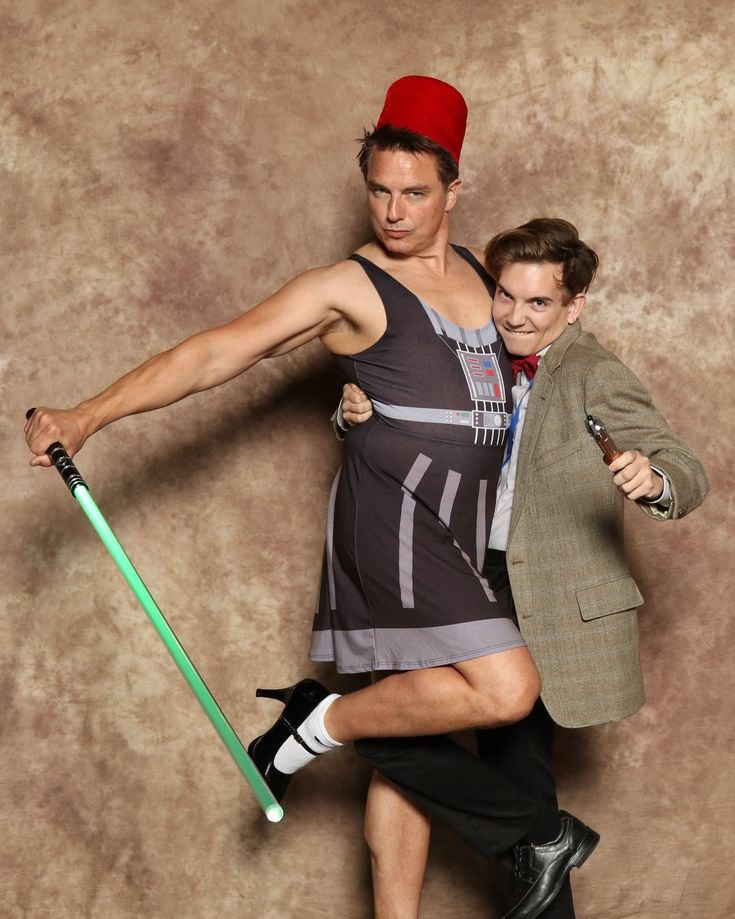 One of the many reasons why we love John Barrowman!