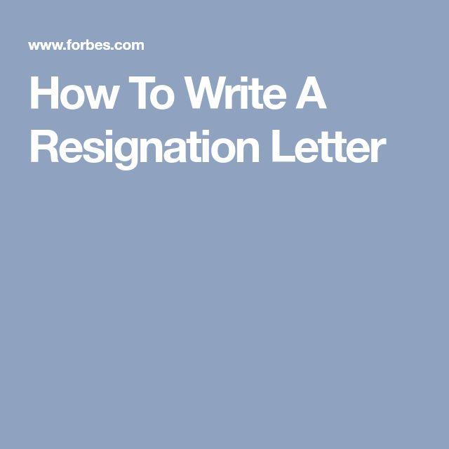 The  Best Resignation Template Ideas On   Resignation