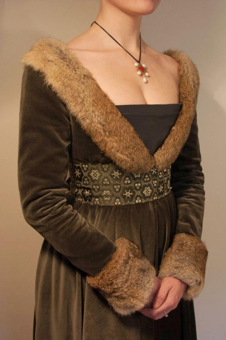 L'Atelier d'Esaïkha Création: XVe : Robe à Tassel - Partie 2/3 : Réalisation de la robe
