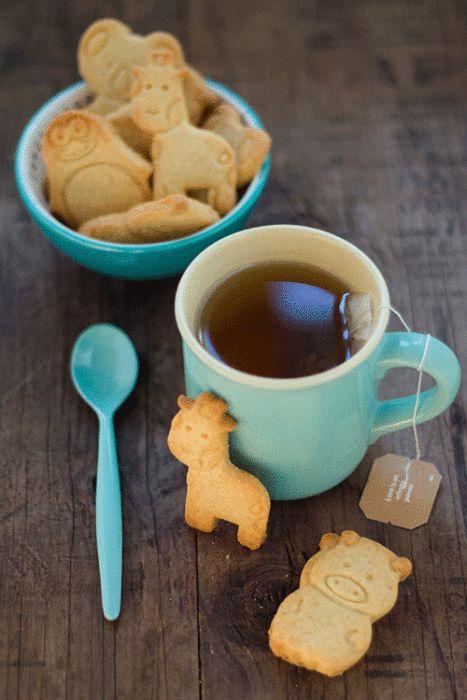 Shortbread Cookies lo zoo in biscotto! - In Cucina con Me