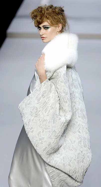 Dior -- Amazing, perfect over a winter wedding dress.