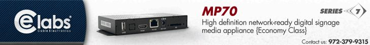 Learn about the CE Labs Series 7 Network Digital Signage Player Line