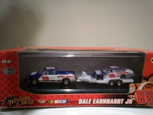 Toy Race Trucks : Dale earnhart jr national guard nascar pick up and race