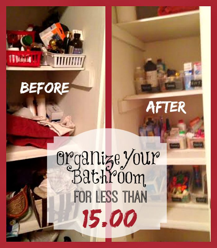 Easy bathroom organization tips that fits your