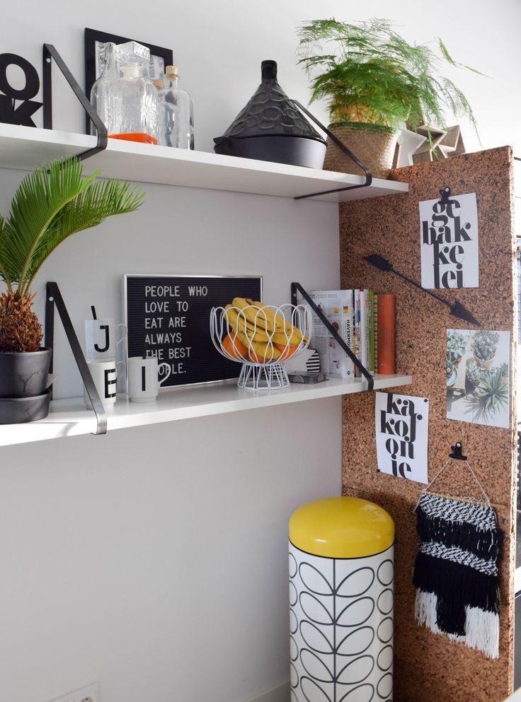 DIY: een wand van kurk - www.interiortwin.com