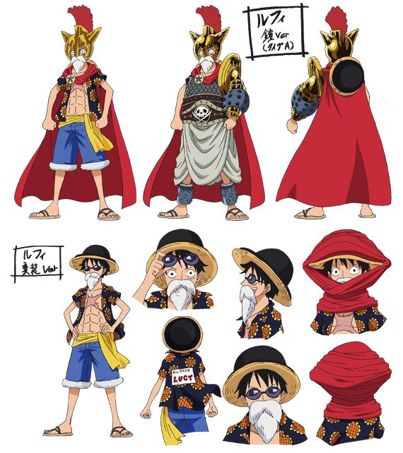 Character Design One Piece : Best luffy official references images on pinterest