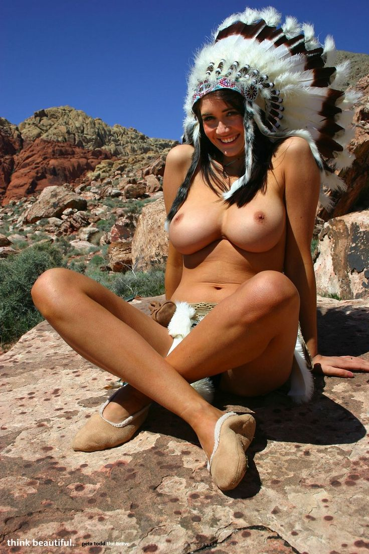 Adult native american indian gets fucked with silicone love