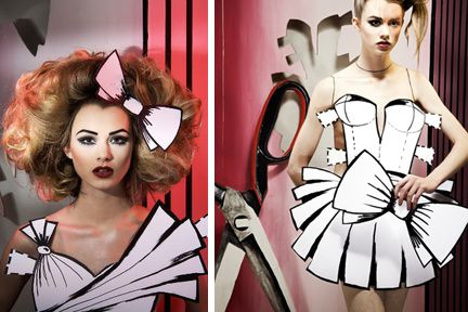 paper doll hair cut outs - Google Search