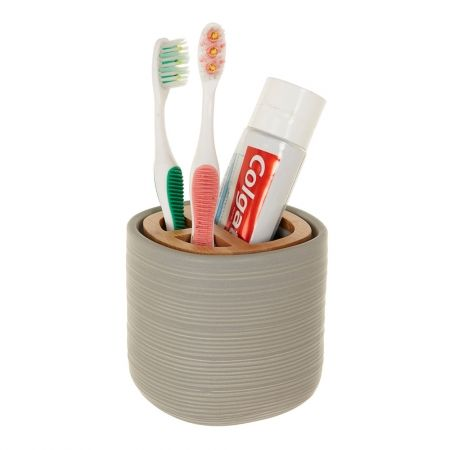 how to make toothbrush holder at home
