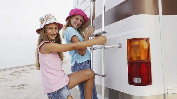 The RV holiday is growing in popularity, especially for bigger families. Have you ever considered holidaying in an RV?  #travel #holidays #family #kids