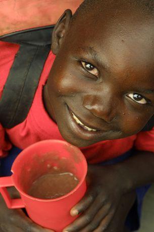 Lunchtime, Luwero Boarding + Day School, Uganda