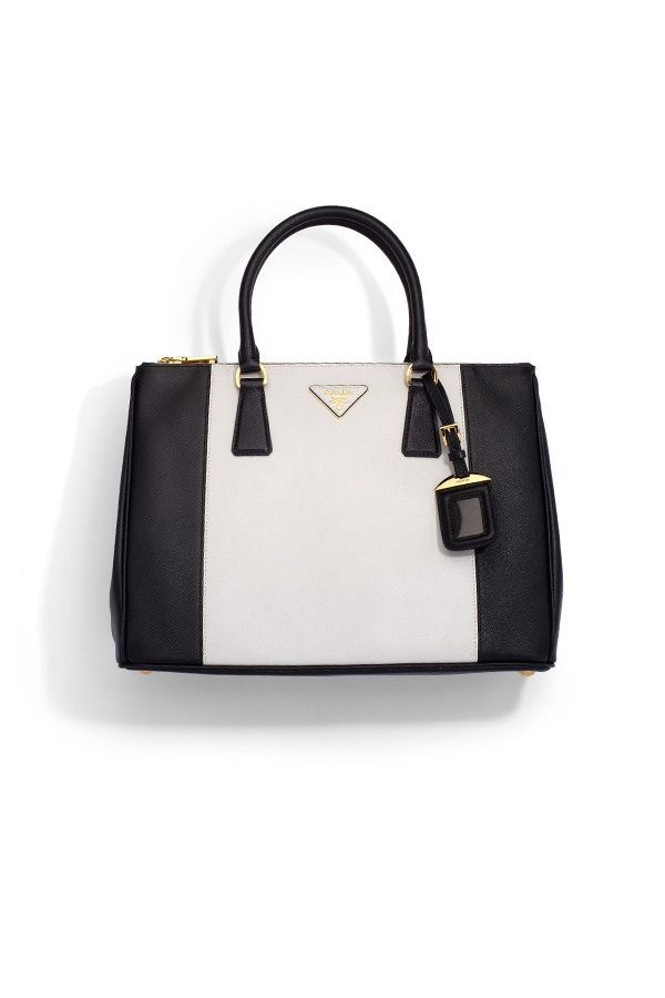 4beb728fd2e62d A luxurious saffiano leather style in a chic, colorblock design. (Prada)