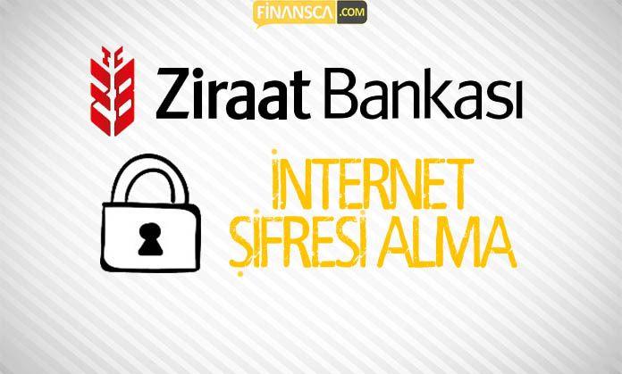 Ziraat Bankası İnternet şubesi şifre alma
