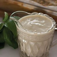 Creamy Béchamel White Sauce (Dairy Free, Gluten Free + Soy Free)