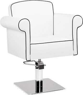 Art Deco Styling Chair. Classic salon design. # #Salonideas