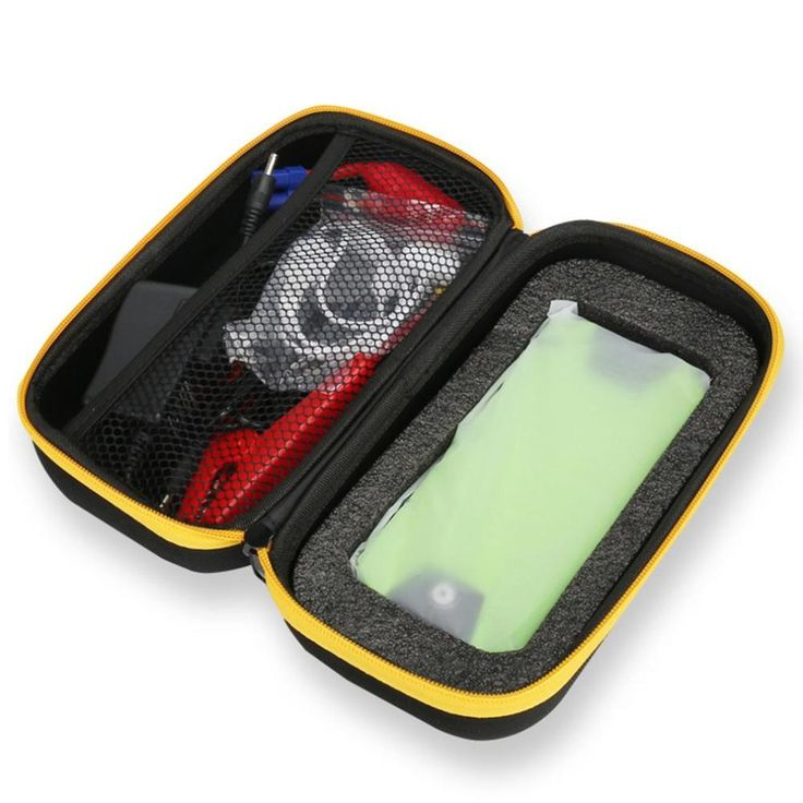 Multifunctional Ultra Thin Auto Car Jump Starter Power Bank 20000MAH 600A Car Battery Charger Booster With Compass Tool